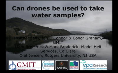 Assessing the potential of drones to take water samples and physico-chemical data from open lakes