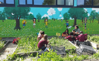 Nature-inspired Learning takes Root at a city centre School